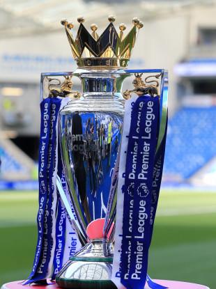 Premier League trophy (file pic).