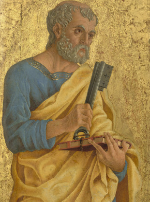 Saint Peter (c. 1468) by Marco Zoppo.