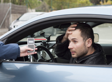 Drivers caught for minor road offences will now face a breath test, says gardaí.