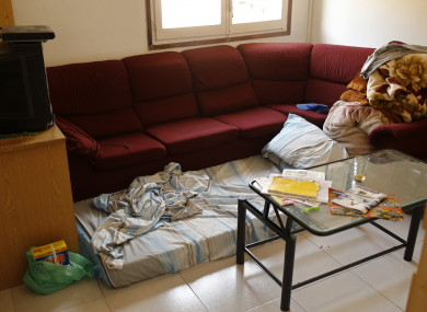 An apartment in Ripoli, north of Barcelona, where an imam suspected of involvement in the terror attacks has been staying.