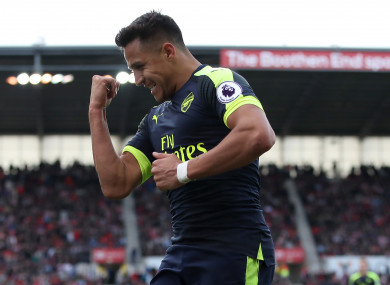 Sanchez could return for for the Gunners.