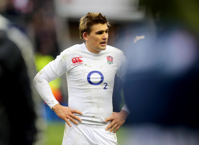 Flood has won 60 caps for England, the last of which came in 2013.
