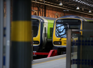 The woman was arrested at Connolly Station.