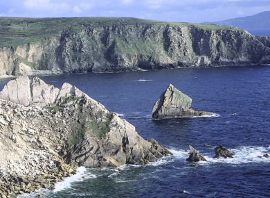 A shot of Achill, part of the Wild Atlantic Way.