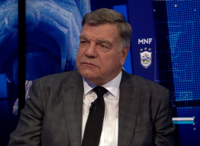 Allardyce was on Monday Night Football.