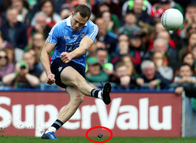 Dean Rock nailed the match-winning free for Dublin.