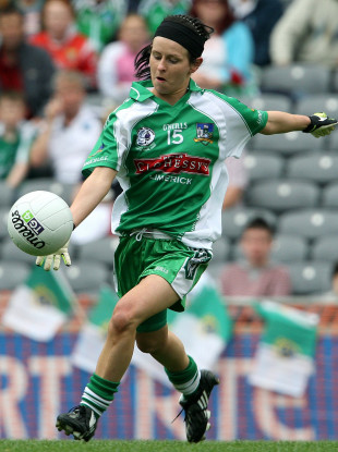 Dymphna O'Brien in action for Limerick: Gerald Griffins star says decision is 'comical'.