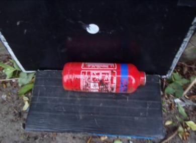 The improvised explosive.