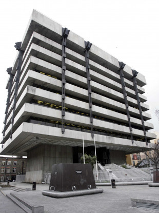 The Central Bank of Ireland has now moved to the Docklands area.