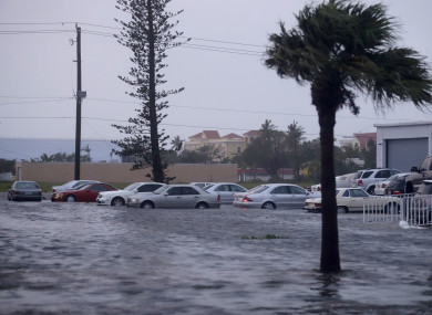 Heavy rains flood the streets of Florida