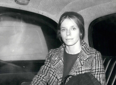 File photo of Lady Lucan dated 1975.