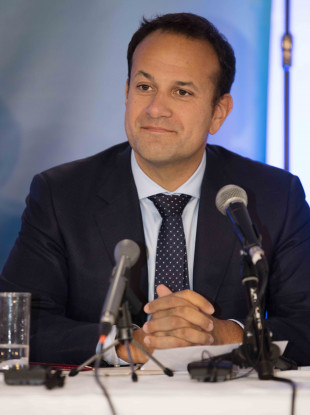 Taoiseach Leo Varadkar at the Fine Gael think-in in Clonmel yesterday.