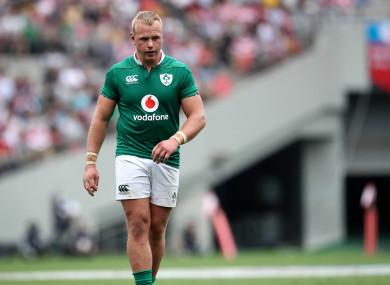 Luke Marhsall is back for Ulster.