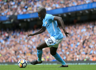Benjamin Mendy had started off the Premier League season in promising fashion.