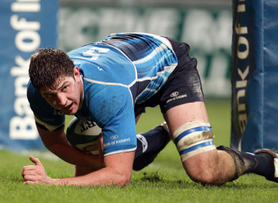 Flanagan played nine times for Leinster.