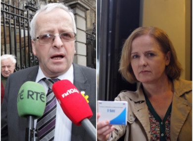 Mattie McGrath and Ruth Coppinger are of opposing views and are both on the committee.