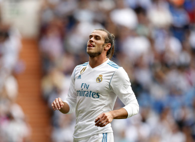 Gareth Bale missed a host of chances as Madrid earned just a point on Saturday afternoon.