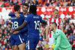 Magic Morata continues stunning goalscoring form as Chelsea thump Stoke