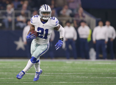 Zeke Elliott will miss six games this season, but is free to play this weekend.
