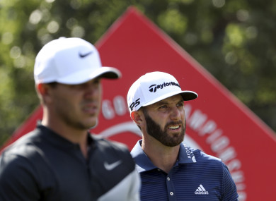 Dustin Johnson is in imperious form in China.