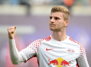 RB Leipzig striker Timo Werner.