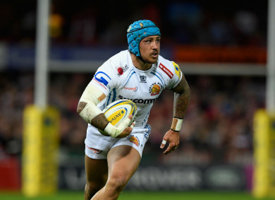 Exeter and England winger Jack Nowell