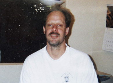 Undated photo of gunman Stephen Paddock