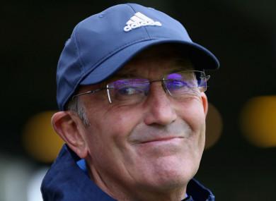 West Brom boss Tony Pulis.