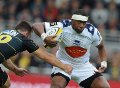 Vasiteri had a spell with Agen in France.