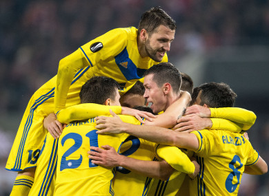 BATE claimed their 12th consecutive title in dramatic fashion on Sunday.