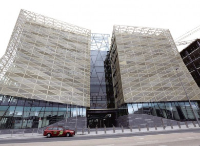 The Central Bank's new headquarters at North Wall Quay, Dublin