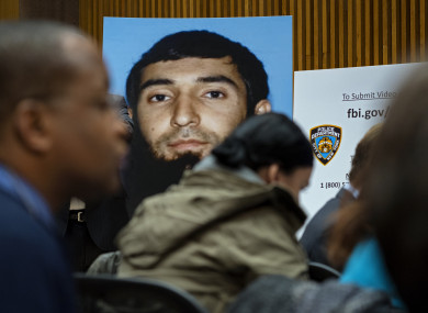Saipov is accused of driving a truck on a bike path that killed several and injured others Tuesday near One World Trade Centre