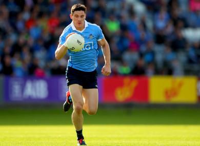 Diarmuid Connolly in action for Dublin.