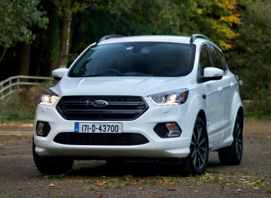 Review The Ford Kuga St Line Is A Great Suv For Families Even Older Ones