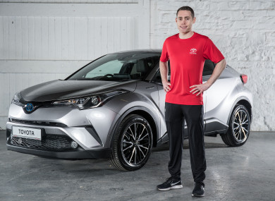 Smyth was speaking as Toyota Ireland announced a new partnership with Paralympics Ireland.