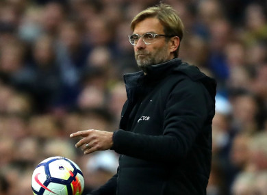 Jurgen Klopp has been frustrated with his side's defensive frailty so far this season.