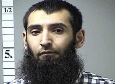 Sayfullo Saipov, the man shot and being held is suspected of carrying out the attack.