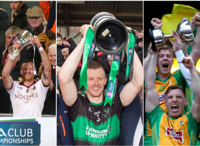 Slaughtneil, Nemo Rangers and Corofin all lifted provincial titles yesterday.
