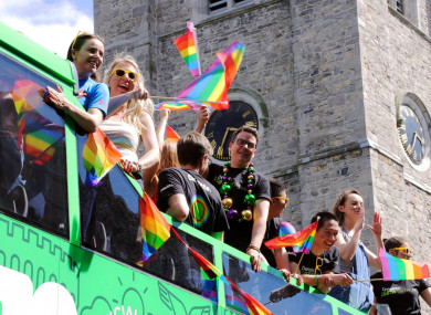 Deloitte employees celebrate Pride