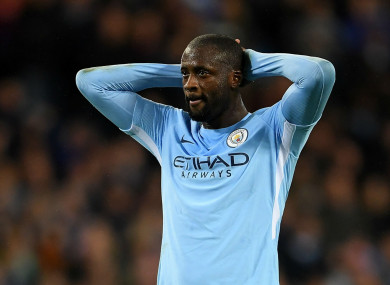 Yaya Toure (file pic).
