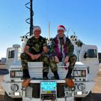 Corporal Jason Rhattigan and Signalman Darren Carrie: