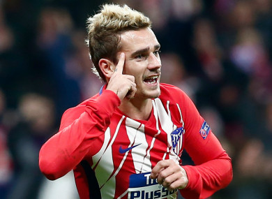 Atletico Madrid forward Antoine Griezmann will be allowed to leave the club.