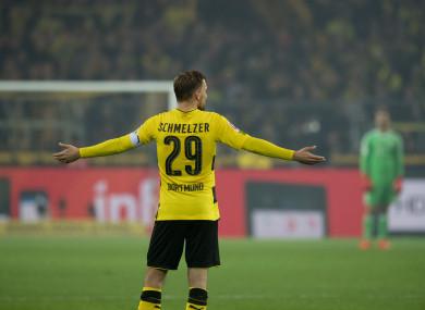 Borussia Dortmund defender Marcel Schmelzer.