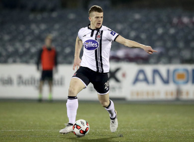 O'Connor in action for Dundalk in 2016.