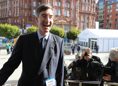 Jacob Rees-Mogg also said that the Irish government fear Sinn Féin.