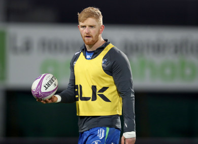 Darragh Leader is set to start for Connacht this weekend.