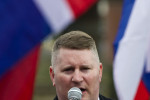Leader of the British far-right group that Trump retweeted has been arrested
