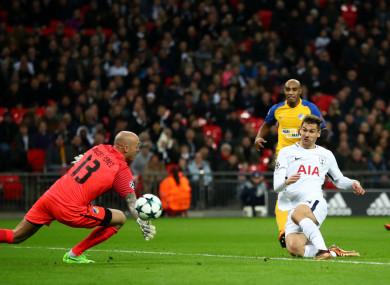 Tottenham's Fernando Llorente