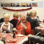 Pictured Mary Nolan from Finglas at the Friends of the Elderly Christmas Dinner <span class=