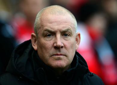 Former Nottingham Forest manager Mark Warburton.